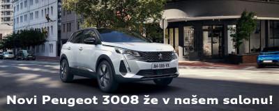 Novi Peugeot 3008 & 3008 Hybrid